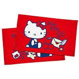 【享夢城堡】HELLO KITTY 我的遊戲房枕套2入(紅)