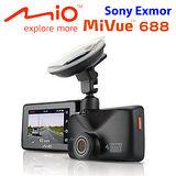Mio MiVue™ 688 Sony Sensor+GPS大光圈行車記錄器+16G卡