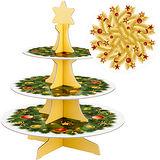 《TESCOMA》雙面三層蛋糕架(聖誕樹)