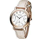 SEIKO 愛麗絲時尚計時腕錶 7T12-0BA0P SRW872P1