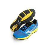 Mizuno 美津濃 (男)WAVE IMPETUS 3 慢跑鞋-藍-J1GE151304