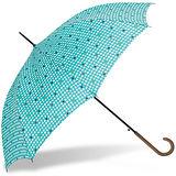 【rainstory】樂活點點(亮綠)抗UV自動開直骨傘