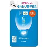 日本ROHTO肌研白潤淨白化妝水(清爽) 補充包170ml