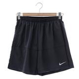 NIKE (男)Distance Running Sport Shorts 運動短褲-黑-642805011