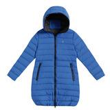 【hilltop山頂鳥】童款蓄熱羽絨長大衣F21C33-海藍