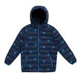 【hilltop山頂鳥】童款可拆袖蓄熱羽絨外套F22CI4-深藍/寶藍