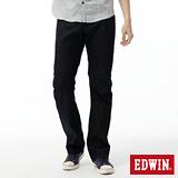 EDWIN 中直筒 E-FUNCTION 3D立體牛仔褲-男-原藍色