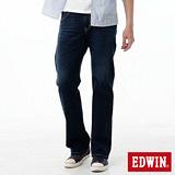 EDWIN 503 ZERO COOL直筒牛仔褲-男-酵洗藍