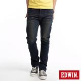 EDWIN E-FUNCTION ZERO中直筒牛仔褲-男-中古藍
