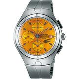 WIRED 15週年限定款計時碼錶-橘黃/41mm 7T92-0TB0O(AF8U27X1)