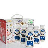 台農乳品 小朋友最愛牛乳好滋味 台農伴手禮(全脂保久乳禮盒) *1 (8瓶/盒;200ml/瓶)