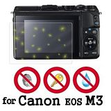 D&A Canon EOS M3 相機專用日本原膜5H螢幕保護貼(NEW AS玻璃奈米)