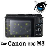 D&A Canon EOS M3 相機專用日本9抗藍光疏油疏水增豔螢幕貼