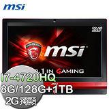 msi微星 Gaming 24GE 2QE-029TW 24吋 i7-4720HQ GTX960M液晶電腦