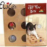 外銷日單》九孔洞洞球木質益智型貓玩具