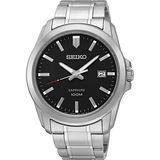 SEIKO CS系列大三針石英錶-黑/41mm 7N42-0GD0D(SGEH49P1)