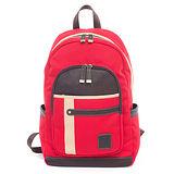 PLAYBOY- Oak camel 橡木駝系列 後背包-紅色