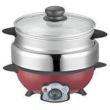 可利亞2L蒸煮烤三用料理鍋KR-816
