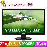 ViewSonic 優派 (VA2246a-LED) 22吋Full HD 超高畫質顯示器