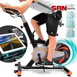 【SAN SPORTS 山司伯特】美式後驅13KG飛輪健身車C175-611 3倍強度.13公斤飛輪車.室內腳踏車競速公路車美腿機