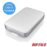 BUFFALO PA系列 2.5吋 500G Thunderbolt / USB 3.0雙介面行動硬碟