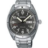 SEIKO CS系列日系菁英機械錶-灰/43mm 4R36-04H0S(SRP709J1)