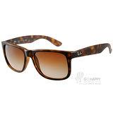 RayBan太陽眼鏡 百搭熱銷款(霧琥珀) #RB4165 71013