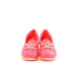 TOP GIRL-沁涼縷空透氣休閒鞋-螢橘
