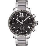 TISSOT T-Sport Quickster 競速運動計時腕錶-灰x銀/42mm T0954171106700