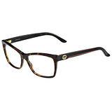 GUCCI-時尚光學眼鏡(黑色/琥珀色)