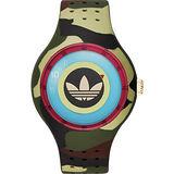 adidas Originals 同心圓趣味腕錶-迷彩/42mm ADH3056