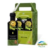 【博能生機】有機100%冷萃初榨橄欖油500毫升/瓶 2入禮盒組-網