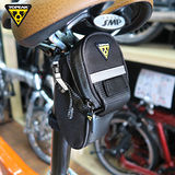 TOPEAK Aero Wedge Pack Micro後座墊袋(迷你型) 黑