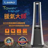 美國Lasko TowerHeat 暖氣大師全方位智能觸控渦輪循環暖氣流 多功能陶瓷無葉片電暖器 AW300TW加碼送飛利浦情調燈