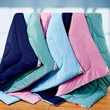 (團購)范倫鐵諾【幸福時光-紫綠】雙色6D纖維舒適被-1入