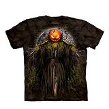 【摩達客】(預購) 美國進口The Mountain 萬聖稻草人 純棉環保短袖T恤