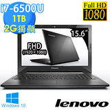 Lenovo IdeaPad 300《15吋 win10_1TB》i7-6500U 2G獨顯 FHD超值筆電(80Q70096TW)★送清潔組+鍵盤膜+滑鼠墊+筆電包+滑鼠