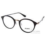 Go-Getter眼鏡 簡約休閒款(銅-黑) #GO2016 C07