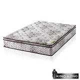 【金鋼床墊】正三線乳膠涼爽舒柔加強護背型3.0硬式彈簧床墊-雙人5尺