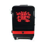 【CROWN皇冠】27吋 Disney 米奇 4.9kg輕量高級蜜月旅行箱 C-FA029 行李箱 米老鼠