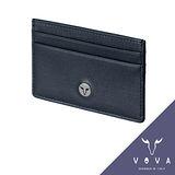VOVA 凱旋系列5卡IV紋單層卡夾(墨藍色)VA104W011NY