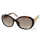 GUCCI太陽眼鏡 奢華時尚18K鍍金廣告款(琥珀棕) #GG3706FS 2ZXHA