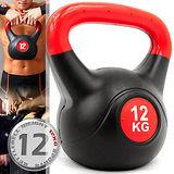 KettleBell重力12公斤壺鈴(26.4磅)C109-2112拉環啞鈴搖擺鈴.舉重量訓練
