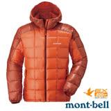 【日本 MONT-BELL 】男款 800FP U.L.Guide 超輕羽絨連帽外套/輕量防風夾克.禦寒大衣 橘 1101464