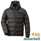 【日本 MONT-BELL 】男款 LIGHT ALPINE PK 羽絨連帽外/輕量防風夾克.超潑水禦寒大衣 深棕 1101430
