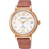 SEIKO LUKIA 花漾時光機械腕錶 4R35-00J0G SRP868J1