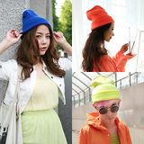 【PS Mall】日韓原宿風 繽紛糖果色針織毛線帽 (G1824)
