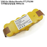 Kamera for iRobot Roomba 600,610,611,630,650,700,760,770,780,790,870,880,Scooba 450 洗地機 充電電池 3000mAh