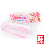Hello Kitty 集水除濕盒 花香粉 鞋全家福