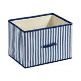 藍色條紋橫式抽屜(38*27*27cm)